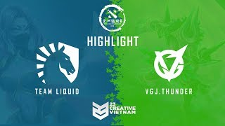 Highlight DAC 2018 | Main Event Day 1 | Team Liquid vs VGJ.T