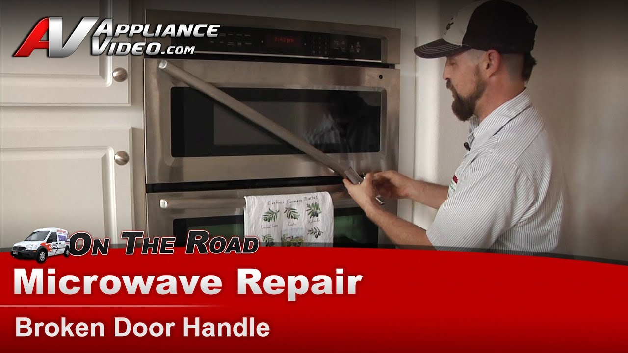 Whirlpool Microwave Repair Broken Door Handle
