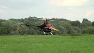 align t rex 550e v2 mit hc3 sx bavarian demon einfacher rundflug