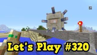 Minecraft Xbox Edition Lets Play #320 - Elder Guardian Minecart