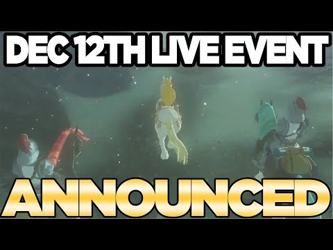 Special Breath of the Wild Live Event Announced - Countdown to Zelda DLC Pack 2 | Austin John Plays