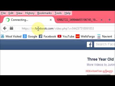how to download facebook videos in mobile without software