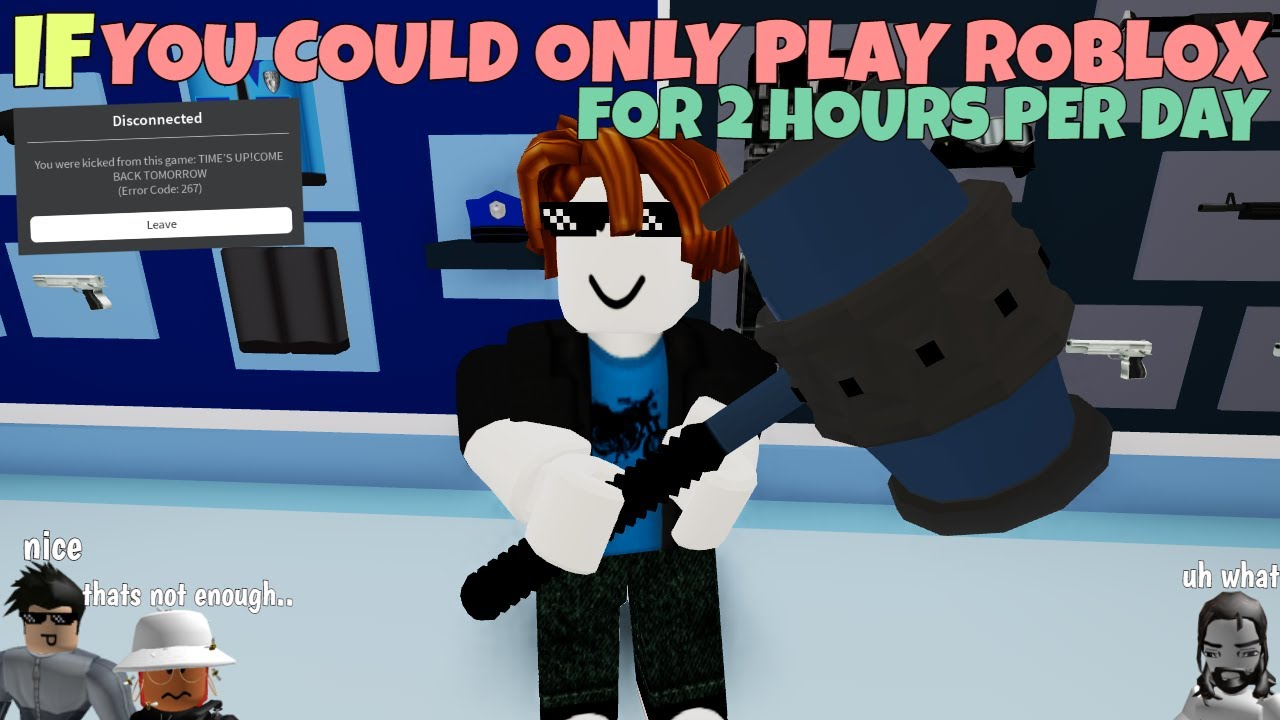 Alright Time To Play Some Ro 20 Roblox If You Could Only Play Roblox For 2 Hours Per Day Youtube