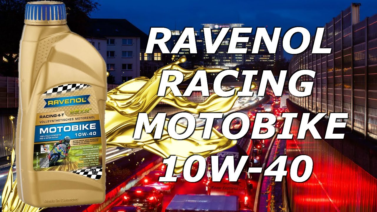 💪Muy [TOP]😍- Aceite Moto Ravenol Racing Motobike 10w40