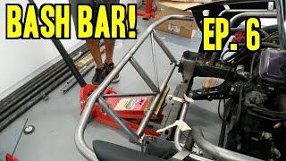 Project 240 - Le Drift Car II | Ep. 6  -  Making a Bash Bar!