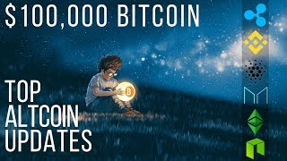 Can $100k BITCOIN be the NEW $10k? CARDANO Shelley Upgrade, MAKERDAO, BINANCE, NEO - Crypto News
