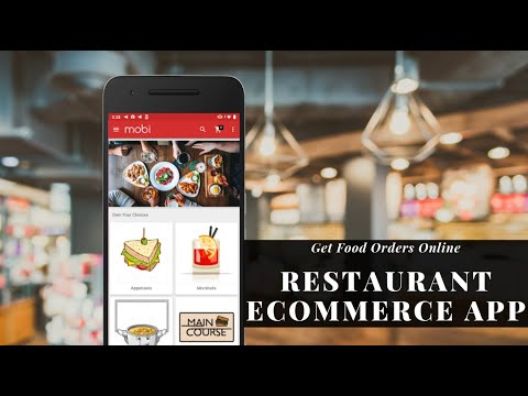 On-Demand Food Delivery Mobile App Builder| Restaurant iOS & Android eCommerce App