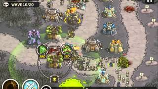 Kingdom Rush Rotten Forest Campaign Mode No Heroes No Bonus PERFECT RUN No Miss
