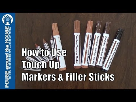 How To Use Furniture Touch Up Markers Wax Fillers Upcycle Repair You
