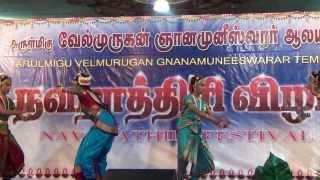 Sri Chamundeshwari Palayamam-Devi Kriti Dance show at AVGMT Singapore.