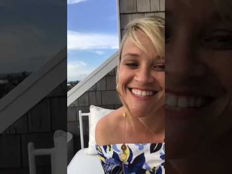 Reese Witherspoon live video in which she discuss about big little lies show
