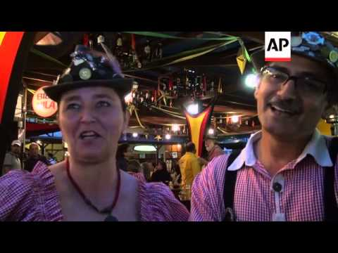 Town founded by German immigrants holds its own version of Oktoberfest