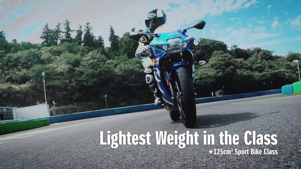 2017 Suzuki GSX-R125 Official Video