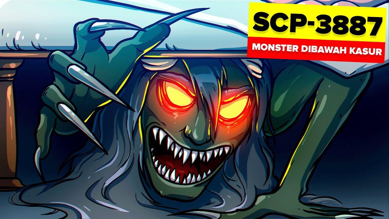 SCP-3887 - Monster Dibawah Kasur (Animasi SCP)