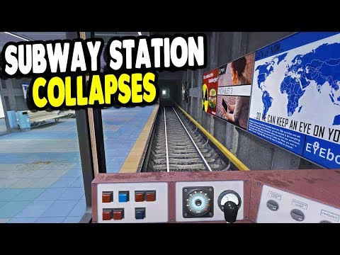 MASSIVE COLLAPSE of Finnish Metro System SURVIVAL | Infra Gameplay
