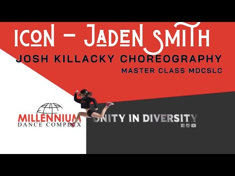 """ICON"" Josh Killacky JAN 2018 MC    Millennium Dance Complex SLC MDCSLC"