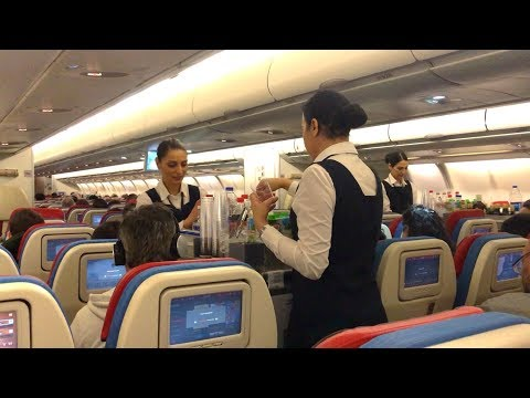 Turkish Airlines Airbus A330-200 Economy Class Flight Istanbul to Amsterdam