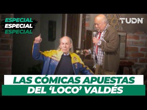 ¡Amante del futbol! Las inolvidables apuestas del 'Loco' Valdés en el América vs Chivas | TUDN