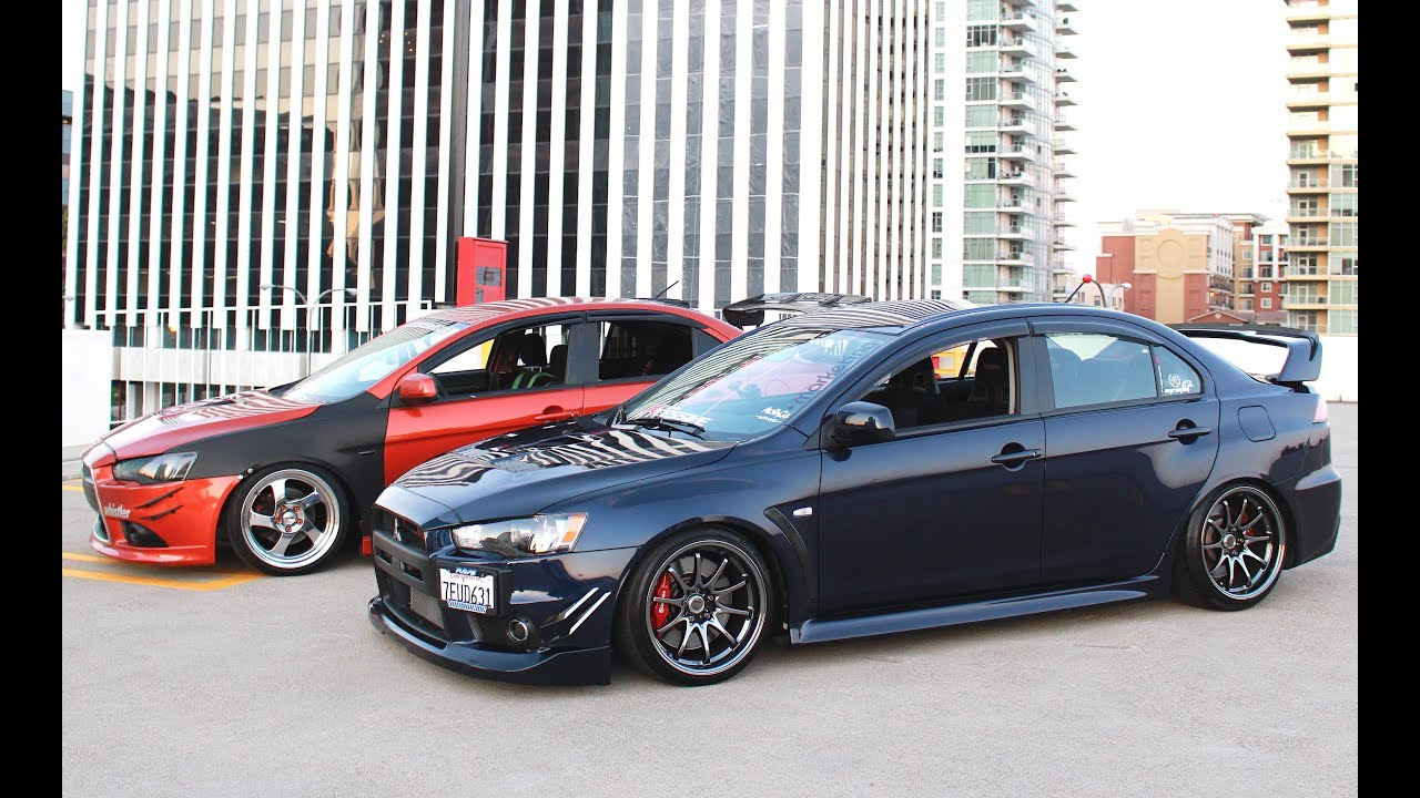 2015 Toyota Grand Prix Lbc Cruising Evo X Gsr And