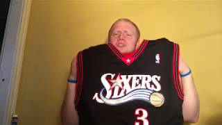 9ea972ff Unboxing & Reviewing the Allen Iverson HWC Swingman Jersey from nba.com!