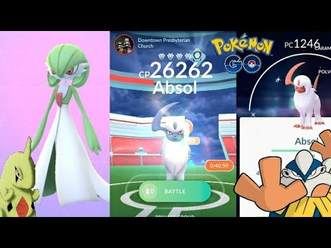 Download Youtube: SHINY ABSOL! GARDEVOIR, HARIYAMA + HATCHING 8,10KM EGGS AT ONCE