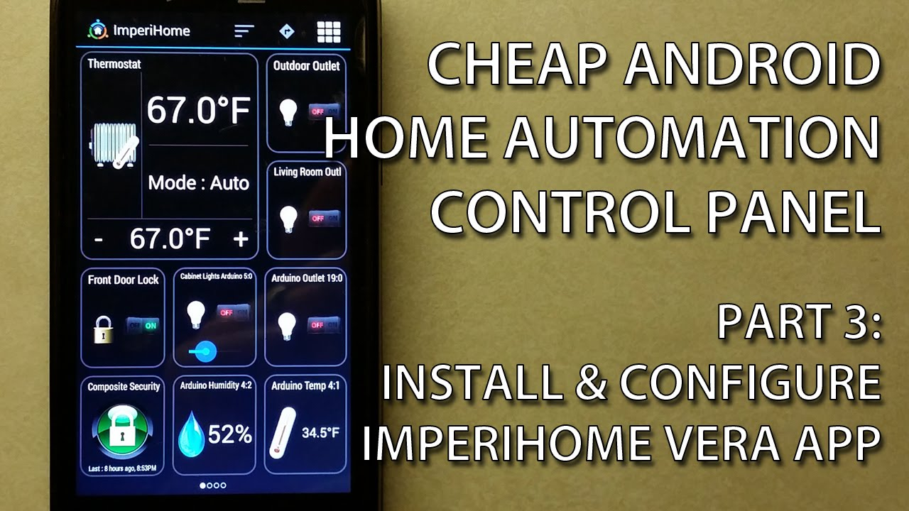 Smart Home Dashboard App