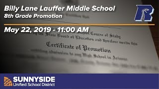 Lauffer Middle School Promotion - 2019 - 11:00am