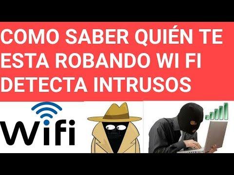 Como bloquear - como saber si me estan robando mi internet