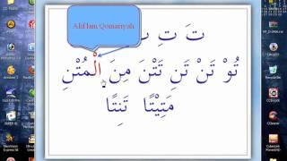 Huruf Dasar   AIU-BA  (Ta-Tsa). Belajar Lagu ---www.arirkm.com--08128287881