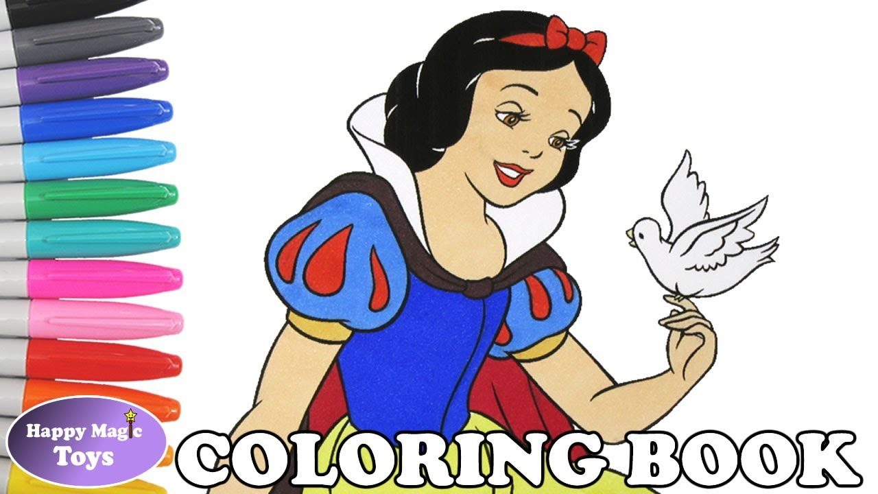 disney snow white coloring book pages snow white and the seven