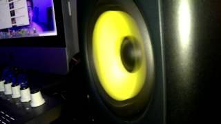 krk rokit 5 bass test Dj myway