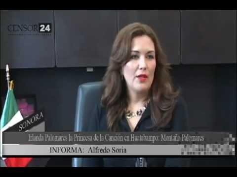 Irlanda Valenzuela la Princesa de la Canción en Huatabampo: Montaño Palomares
