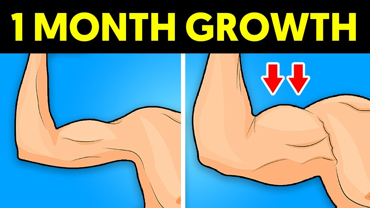 How to Gain 5 Lbs of Muscle in a Month