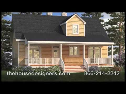 Lakeview house plan from the house designers youtube for Thehousedesigners com home plans