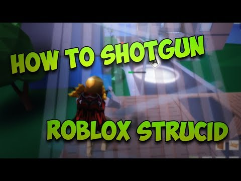 How To Aim Easily With the Shotgun! ROBLOX Strucid