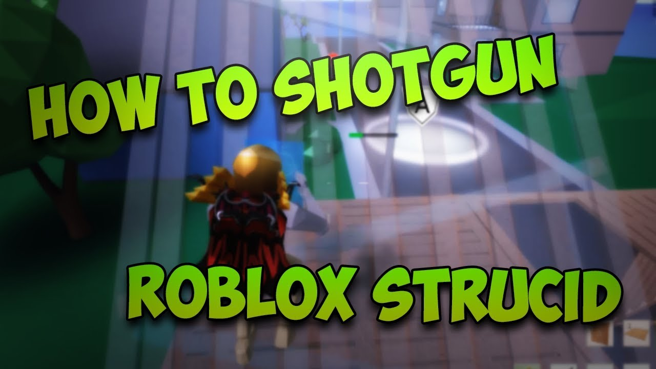 How To Aim Easily With the Shotgun! ROBLOX Strucid - YouTube