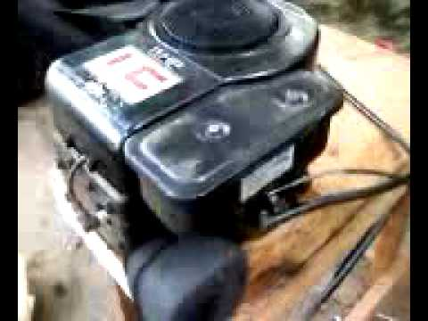 11hp Briggs And Stratton Series 25 Engine First Start And ...
