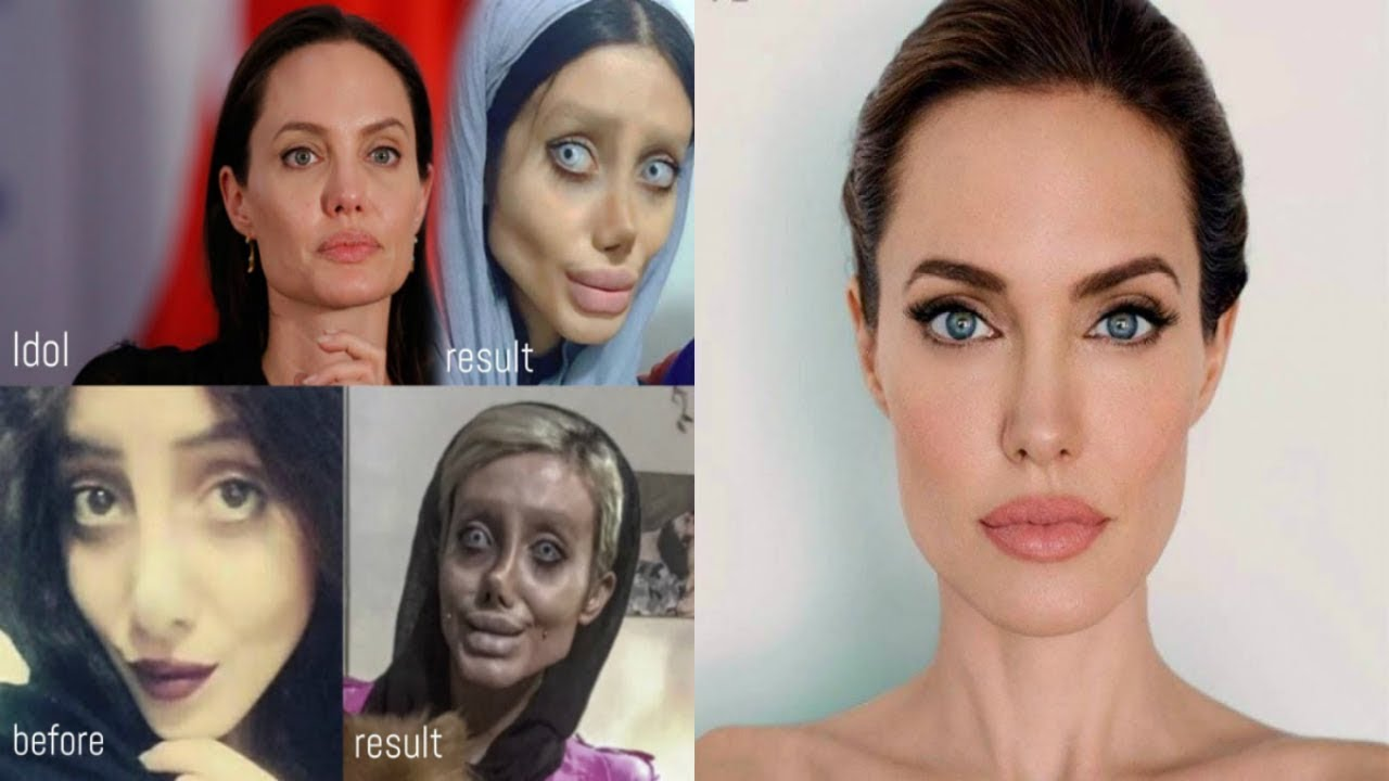 What Iranian Angelina Jolie really looks like