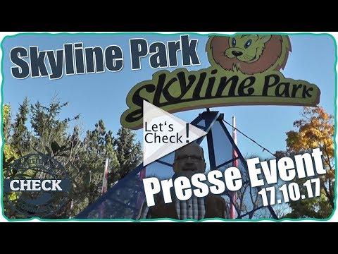 Skyline Park - Presse Event 17.10.2017 / Neuheiten 2020?