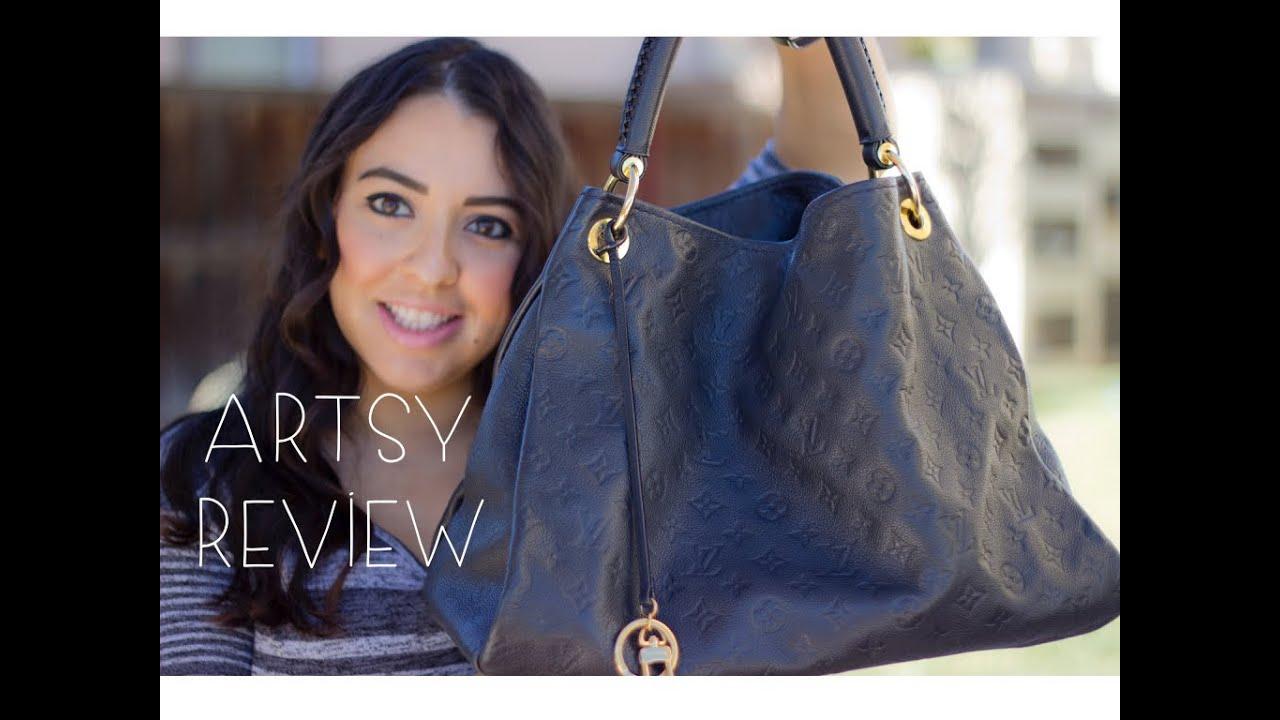 Louis Vuitton Empreinte Artsy Mm Review Wear Tear Blush Hour You