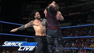 Jimmy Uso vs. Harper: SmackDown LIVE, March 20, 2018