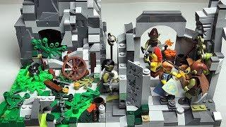 как построить LEGO КОРОЛЕВСТВО 1 Аванпост Рыцари самоделка