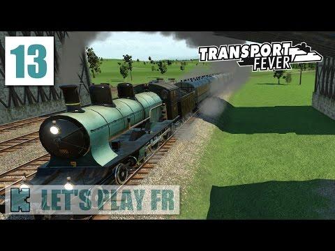 [FR] Transport Fever Partie libre | 1902 | A3/5 rapide et ligne double de planches pour machines