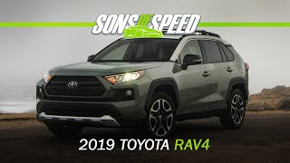 Driving the 2019 Toyota RAV4 Adventure in the Snow!! | Sons of Speed