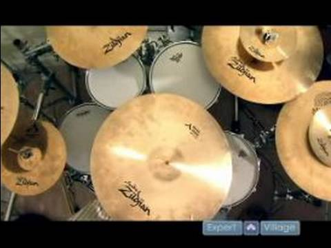 Drum Set Basics Different Cymbal Sounds Of A