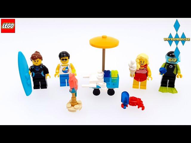 Lego  - 40344 Minifiguren Sommer 2020 Lego-Shop Geschenk Beigabe + Anleitung / Instructions