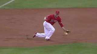 Video DET@LAA: Freese makes a nice stop, throws for out download MP3, 3GP, MP4, WEBM, AVI, FLV April 2018