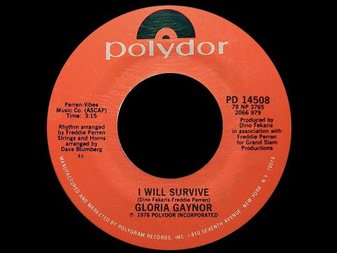 Gloria Gaynor ~ I Will Survive 1979 Disco Purrfection Version
