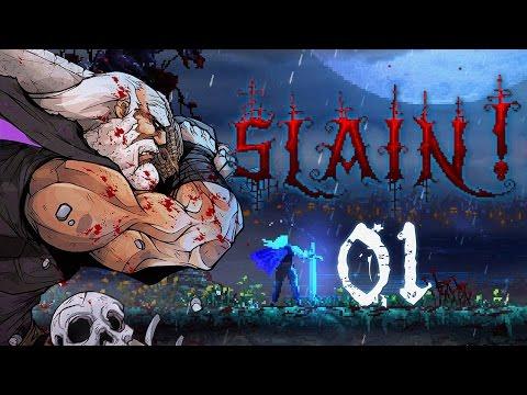 """Slain! Прохождение - Башня №1: """"Кровавые земли"""""""