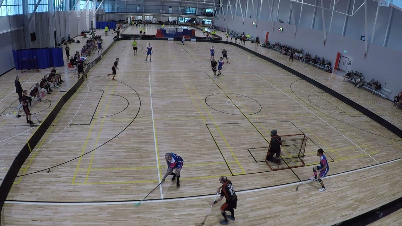 Download 2021 Christchurch Floorball Open Elite Day 2 Semi -  Wellington Bays v Christchurch Quake